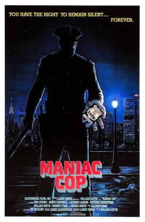 Maniac Cop - Movie Poster (thumbnail)