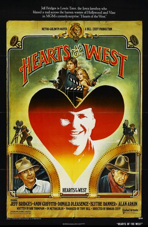 Hearts of the West - Movie Poster (thumbnail)