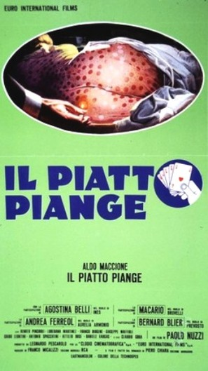 Il piatto piange - Italian Movie Poster (thumbnail)
