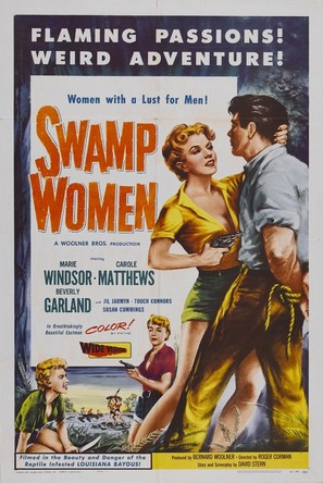 Swamp Women - Theatrical poster (thumbnail)