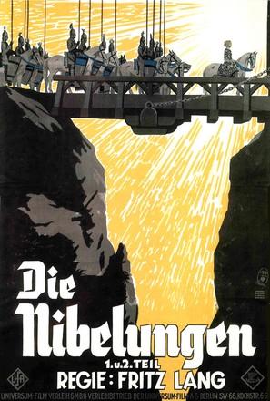 Die Nibelungen: Siegfried - German Movie Poster (thumbnail)