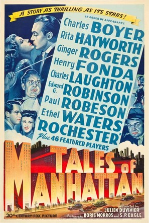 Tales of Manhattan - Movie Poster (thumbnail)