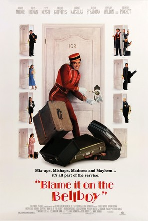 Blame It on the Bellboy - Movie Poster (thumbnail)