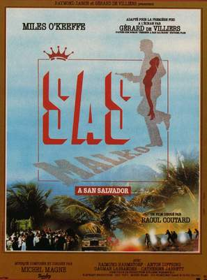 S.A.S. à San Salvador - French Movie Poster (thumbnail)