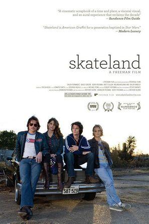Skateland - Movie Poster (thumbnail)