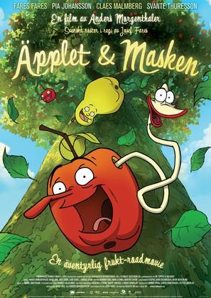 Æblet & ormen - Swedish Movie Poster (thumbnail)