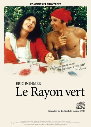 Rayon vert, Le - French Movie Poster (thumbnail)