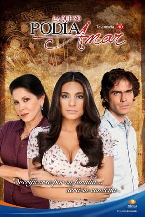 """La que no podía amar"" - Mexican Movie Poster (thumbnail)"