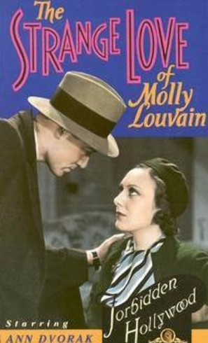 The Strange Love of Molly Louvain - VHS cover (thumbnail)