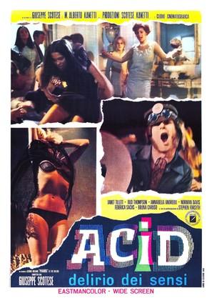 Acid - delirio dei sensi - Italian Movie Poster (thumbnail)