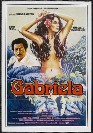 Gabriela, Cravo e Canela - Brazilian Movie Poster (thumbnail)
