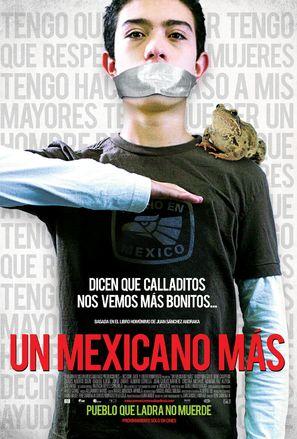 Un mexicano más - Mexican Movie Poster (thumbnail)
