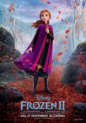 Frozen II - Italian Movie Poster (thumbnail)