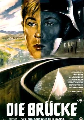 Die Brücke - German Movie Poster (thumbnail)