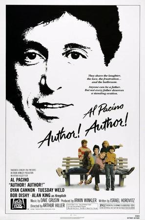 Author! Author! - Theatrical movie poster (thumbnail)