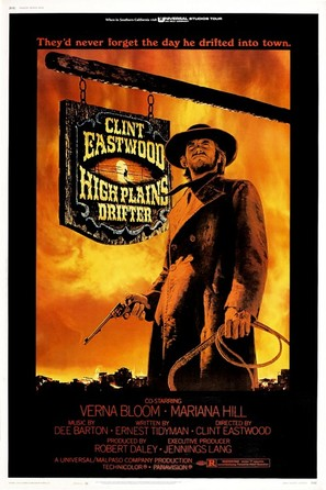 High Plains Drifter - Movie Poster (thumbnail)