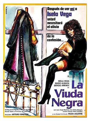 La viuda negra - Mexican Movie Poster (thumbnail)