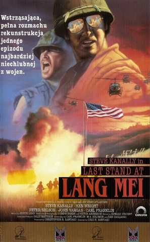 Last Stand at Lang Mei - Polish VHS movie cover (thumbnail)