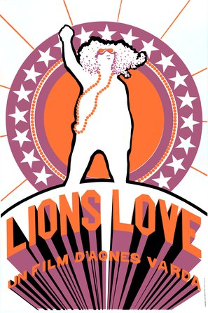 Lions Love - French Movie Poster (thumbnail)