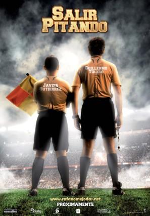 Salir pitando - Spanish Movie Poster (thumbnail)