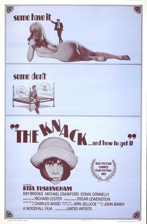 The Knack ...and How to Get It - Movie Poster (thumbnail)