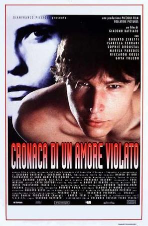 Cronaca di un amore violato - Italian Movie Poster (thumbnail)
