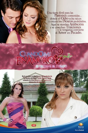 """Cuando me enamoro"" - Mexican Movie Poster (thumbnail)"