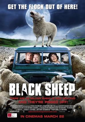 Black Sheep - New Zealand Movie Poster (thumbnail)