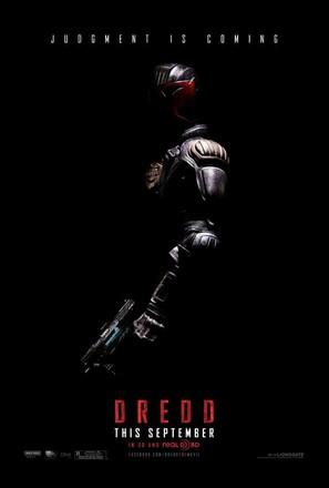 Dredd - Teaser movie poster (thumbnail)