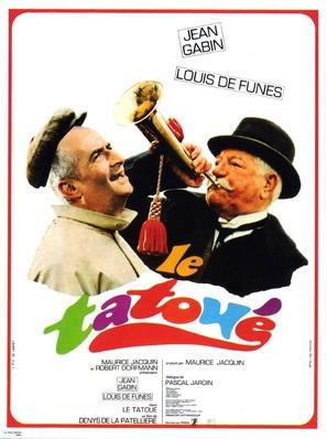 Le tatoué - French Movie Poster (thumbnail)