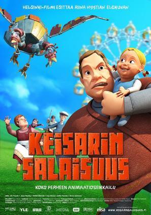Keisarin salaisuus - Finnish Movie Poster (thumbnail)