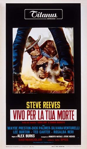 Vivo per la tua morte - Italian Movie Poster (thumbnail)