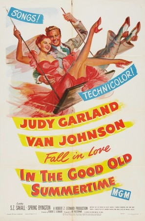 In the Good Old Summertime - Movie Poster (thumbnail)