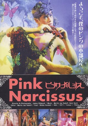 Pink Narcissus - Japanese Movie Poster (thumbnail)