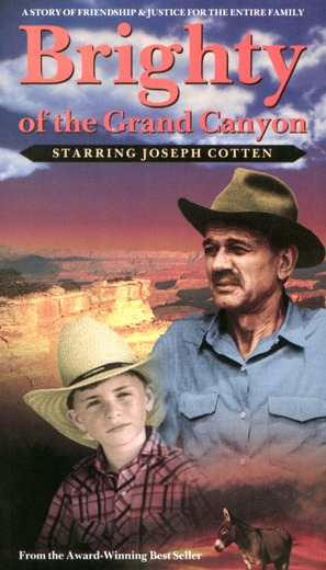 Brighty of the Grand Canyon - VHS movie cover (thumbnail)