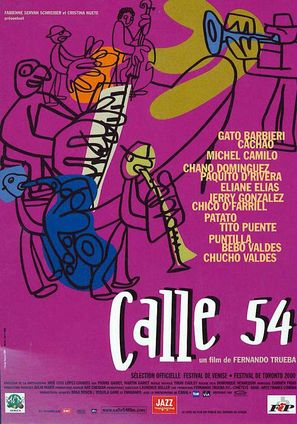 Calle 54 - French Movie Poster (thumbnail)