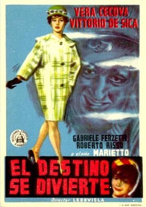 Ballerina e Buon Dio - Spanish Movie Poster (thumbnail)