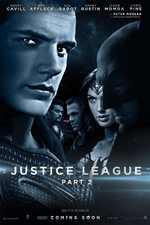 Justice League Part Two - Movie Poster (thumbnail)