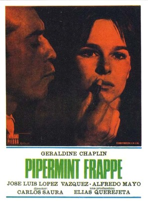 Peppermint Frappé - Spanish Movie Poster (thumbnail)