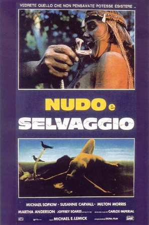 Nudo e selvaggio - Italian Movie Poster (thumbnail)