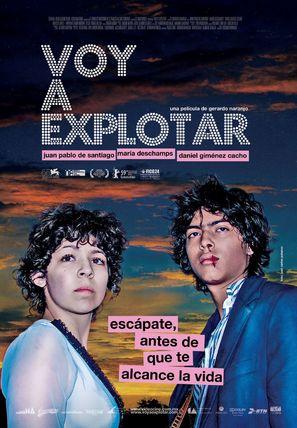 Voy a explotar - Mexican Movie Poster (thumbnail)