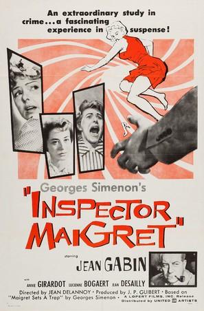 Maigret tend un piège - Movie Poster (thumbnail)