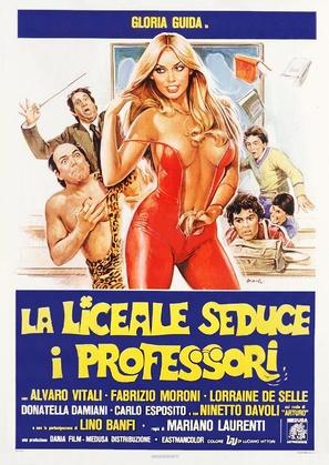 La liceale seduce i professori - Italian Theatrical movie poster (thumbnail)
