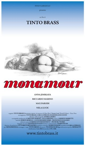 Monamour - Italian Movie Poster (thumbnail)