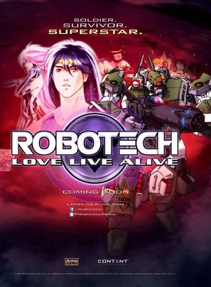 Robotech: Love Live Alive - Movie Poster (thumbnail)
