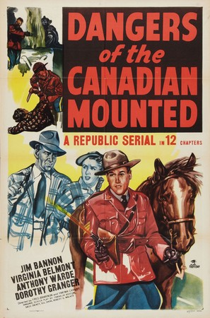 Dangers of the Canadian Mounted - Movie Poster (thumbnail)