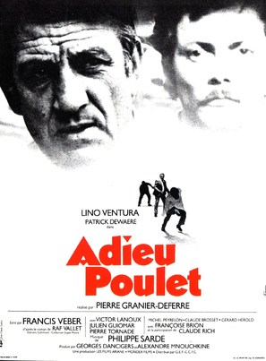 Adieu, poulet - French Movie Poster (thumbnail)