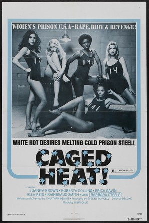 Caged Heat - Theatrical poster (thumbnail)