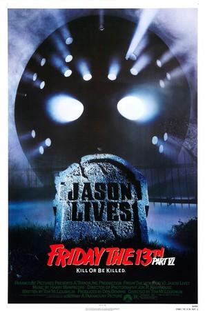 Jason Lives: Friday the 13th Part VI - Movie Poster (thumbnail)