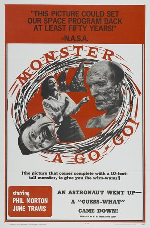 Monster A Go-Go - Movie Poster (thumbnail)